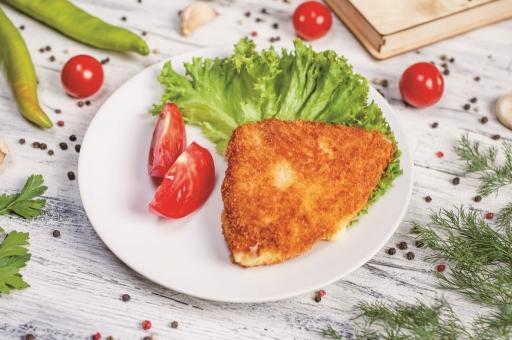 Сыр жареный