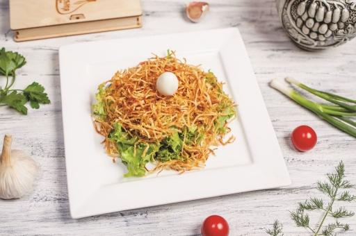 Салат «Гнездо»
